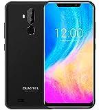 OUKITEL C12 Android 8.1 Telephone Portable debloqué de Double SIM – écran U-Cran...