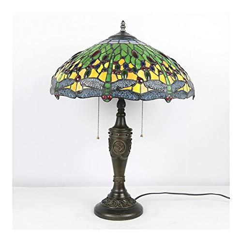 Estilo 2 Luz Elegante Lámpara de Mesa de Serenidad para niños Habitación Sala de Estar Dormitorio Escritorio Antiguo Cómoda al Lado de Lámparas para dormitorios Lámpara de Noche