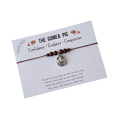 The Guinea Pig Totem Wish-lets Wish Bracelet, Beaded Wish Bracelet, Friendship Bracelet