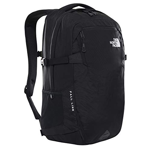 The North Face - Zaino Fall Line - Zaino Ultraleggero, Riflettente con Tasca per Laptop - Nero