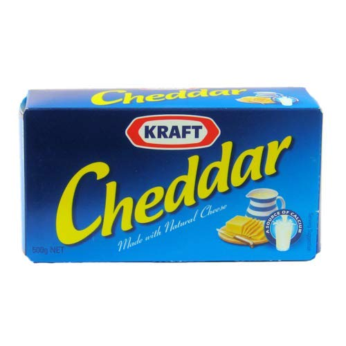 Kraft Cheddar Made with Real Cheese (Australia Made) 500 grams