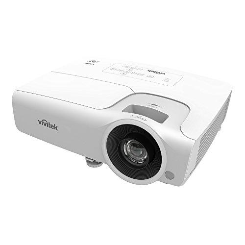 VIVITEK dw265, vielseitiger16: 9proyector con Brillo Alto, 1,2x Zoom, 3500ANSI lúmenes, Relación de Contraste 15.000: 1, resolución 1280x 800Pixeles, 2entradas HDMI, Color Blanco