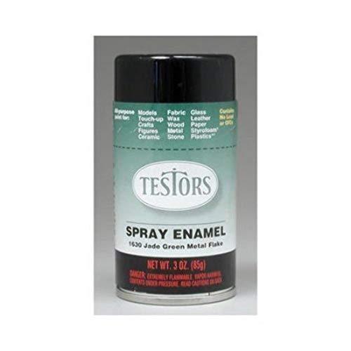 TESTORS CORPORATION Boys 1630T Custom Spray, 3 oz, Green Metal Flake
