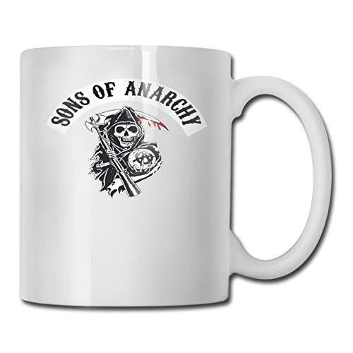 EU Sons of Anarchy Reaper Crew Becher, Dies ist EIN personalisierter Becher, Dies ist eine Kaffeetasse für Damen, Netter Becher 11 oz