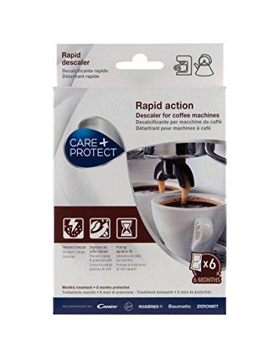 CARE + PROTECT 35601771 Détartran pour machines à café et bouilloires, Blanc