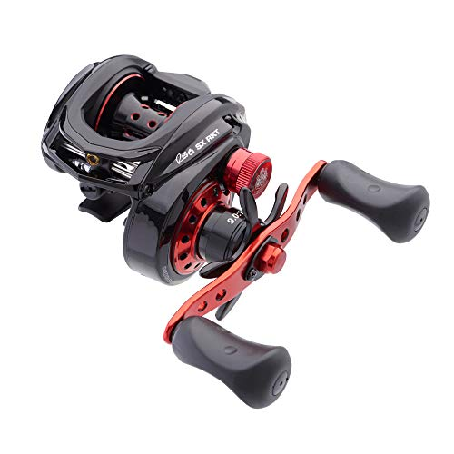 Abu Garcia Revo SX RKT Low Profile Baitcast Fishing Reel -  REVO4 SX-ROCKET-L