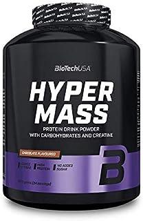 Biotech USA Hyper Mass 5000 Ganador de Peso y Carbohidratos Sabor Chocolate - 2270 gr