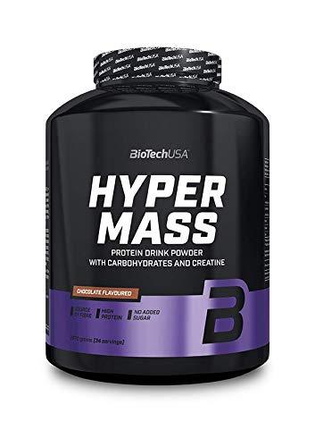 BioTech Hyper Mass Miscela di Proteine, Gusto Caramello e Cappuccino - 2270 gr