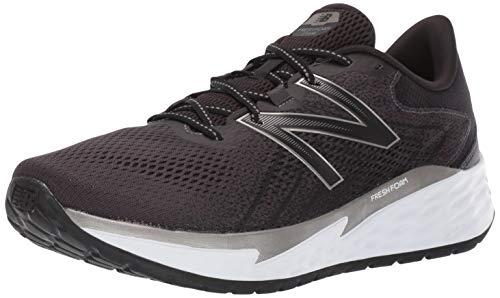 New Balance Fresh Foam Evare, Zapatillas para Correr de Carretera para Hombre, Negro (Black/Silver/White), 43 EU