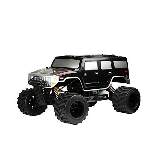 WDLY 1/4 Hummer Gasolina Coche Teledirigido, Impulsada por El Petróleo 2.4G 4WD Drive De Alta Velocidad Modelo RC Coche Desierto, con 700 CC Tanque De La Gasolina, Velocidad Máxima: 80 Km/H