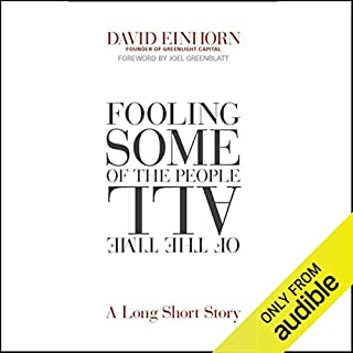 Fooling Some of the People All of the Time audiobook cover art