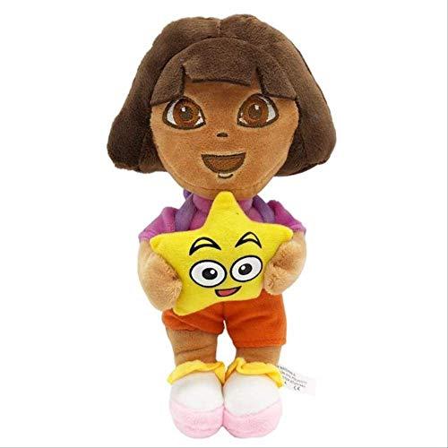 siqiwl Plüschtier 1pc 25cm Süße Dora / Affenstiefel / Fox Gefüllte Plüschtiere Echtes Liebesabenteuer Von Dora Puppen Tv & Filme Spiel Für Kinder Geschenk