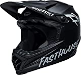BELL Full-9 Fusion MIPS Casco Integral MTB, Unisex, Fasthouse Mate Negro, M