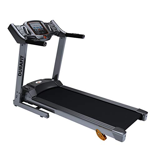Durafit Sturdy 1.25 HP (Peak 2.5 HP) Motorized Foldable Treadmill