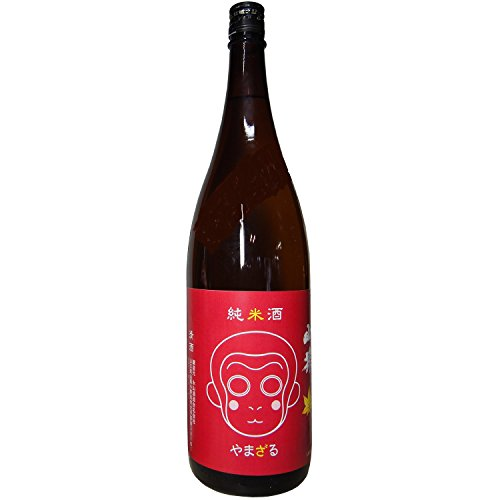 山猿 純米酒 中硬水仕込 1.8L [8185]