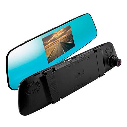 AUTOSTYLE VSC-CD31 Onboard 3-in-1 Car Spiegel-Kamera (Dashcam) -Full HD 1920x1080-inkl. Touchscreen & Rückfahrkamera