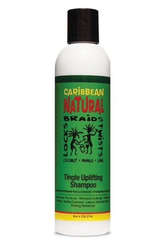 Price comparison product image Caribbean Naturals Locks / Braids / Twist Tingle Uplifting Shampoo - 8 oz