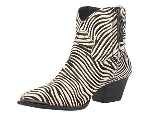 Dingo Hairy Up Black Zebra 11 B (M)