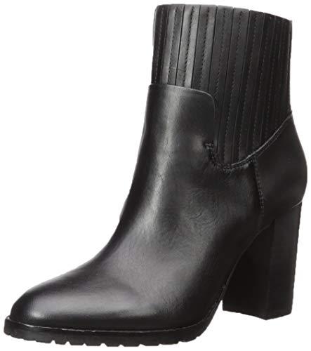 Aerosoles Women's Wardrobe Fashion Boot, Black Leather, 7 M US