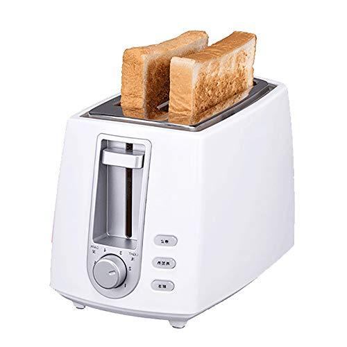 AMY Brot-Toaster, Extra Breiter Schlitz-Toaster Mit 2 Scheiben Und 6 Variablen Bräunungsreglern Günstig - Für Kitchenaid,Weiß