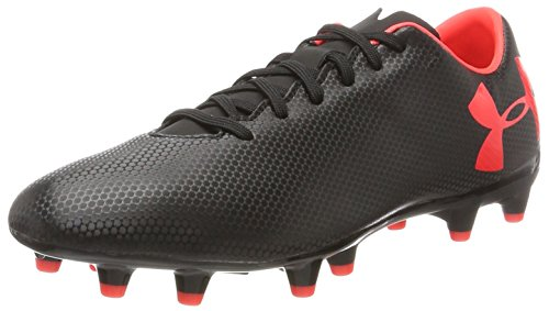 Under Armour Ua Force 3.0 Fg, Zapatillas de Fútbol para Hombre, Negro (Black), 44.5 EU