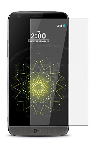 SHEEL GROW ™ Tempered Glass Screen Protector Guard (Front) with 100% Optical Resolution, Hammerproof Scratch Resistant for LG G5 (Trink Glass) Comes with Installation kit.(Pack of 1)