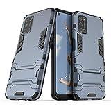 NH Funda OPPO A37/Neo 9 Shockproof Carcasa 360 Grados Protective + [Protector Pantalla 2 Piezas] Hard PC y Silicona TPU Kickstand Tough Armor Case para OPPO A37/Neo 9 -Azul