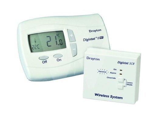 Drayton RF601 RF WIRELESS CRONOTERMOSTATO con display digitale stat solo