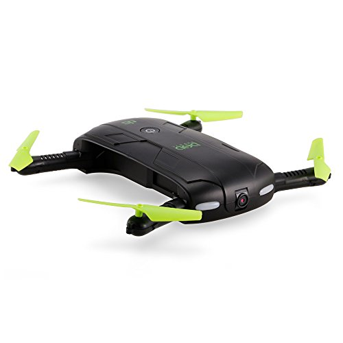 Goolsky D5 Wifi FPV 480P Camera pieghevole Selfie Drone 6-Axis Gyro Altitudine Hold Tramonto RC Quadcopter