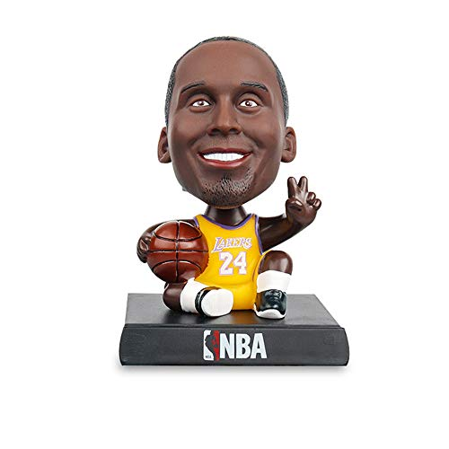 NBA Stars-Kobe Bryant-NBA Legends Action Figure, Toy Minifigure, Collectible Figurine -Phone Holder-Phone Stand- Great Gift for Basketball Sports Fans- 5.9