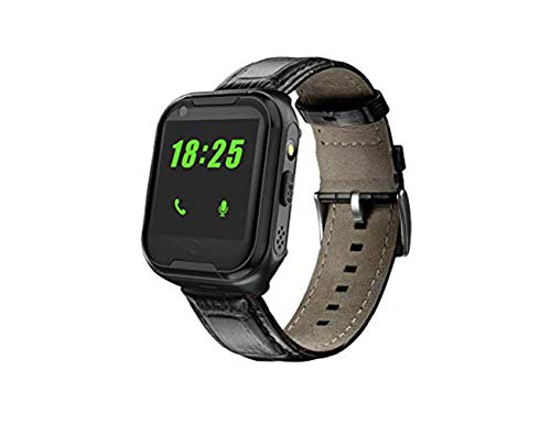 Elderly GPS Smart Watch, Laxcido 4G Heart Rate Blood Pressure Monitoring Smartwatch, Video Call Step Counter Geo-Fence SOS Voice Messages Waterproof Fitness Tracker Watch for Dementia Alzheimer's