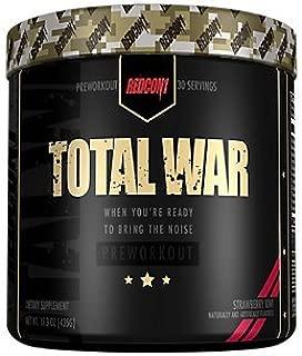 Redcon1 - Total War - Strawberry Kiwi - 30 Servings - Pre Workout
