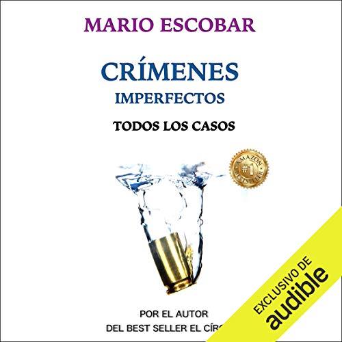 Diseño de la portada del título Crimenes Imperfectos (Narración en Castellano)
