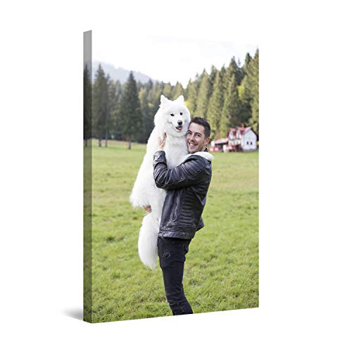 Startonight Cuadro sobre Lienzo Personalizado con tu Foto 90x60 cm