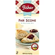 Fisher All Natural Original Fair Scone and Shortcake Mix, 18 Ounce Bag, Pack of 3