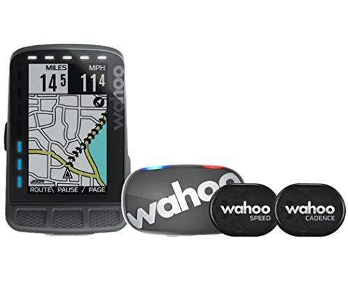 WAHOO(ワフー) ELEMNT ROAM(エレメントローム) GPSサイクルコンピューターバンドル(センサー類/マウント付)...