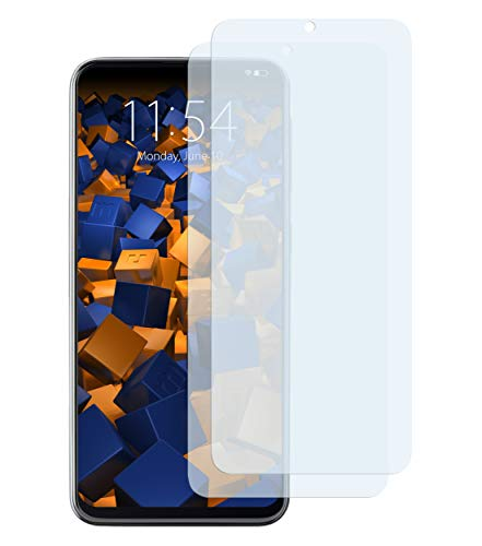mumbi Schutzfolie kompatibel mit Samsung Galaxy A20e Folie klar, Displayschutzfolie (2x)