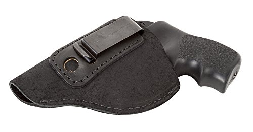 Relentless Tactical The Ultimate Suede Leather IWB Holster - Made in USA - Left Handed - Fits Most J Frame Revolvers - Ruger LCR - Smith & Wesson Body Guard - Taurus & Most .38 Special Type Guns