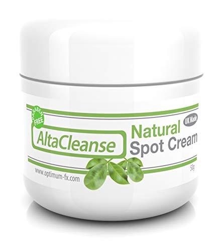 AltaCleanse Trattamento Crema Brufoli Naturale per Punti Neri Controllo Sebo Milia Macchie Oleose e Problemi della Pelle - Retinolo Antibatterico Come Effetti - 50g