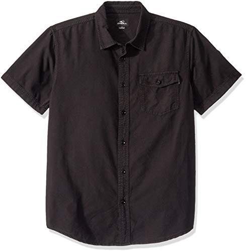O'Neill Chemise à manches courtes pour homme Coupe classique - Noir - Taille XL