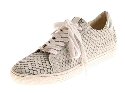Kimkay Ledersneaker Sneaker Lederschuhe Damen sportlich Light Grey 4929 38 EU