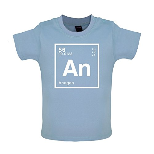 ANA - Periodic Element - Baby / Toddler T-Shirt - Dusty Blue - 18-24 Months