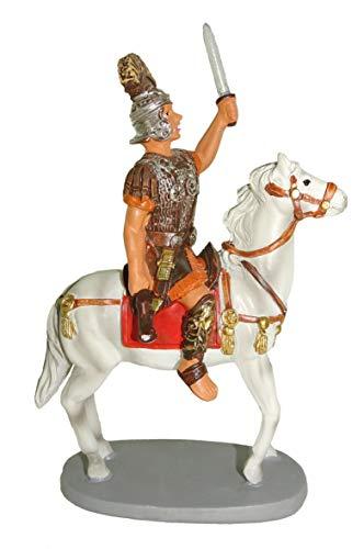 Ferrari & Arrighetti Figuras Belén: Soldado Romano a Caballo - Colecc