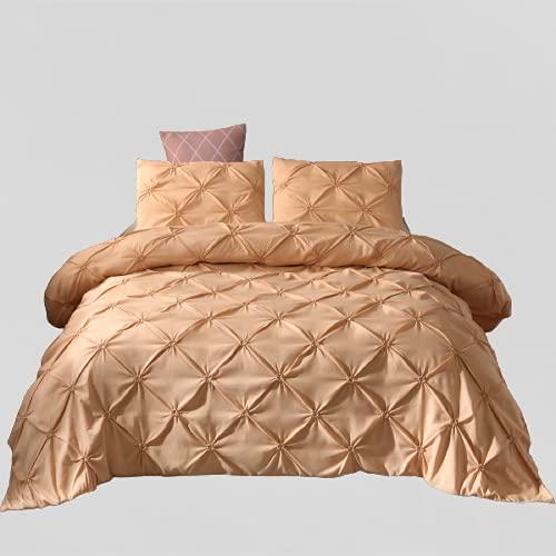 Ropa De Cama Textiles para El Hogar Patrón De Flores Hecho A Mano Funda Nórdica De Color Puro Simple Elegante Y Duradera 228x228cm