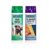 Nikwax Hardshell Cleaning & Waterproofing DUO-Pack