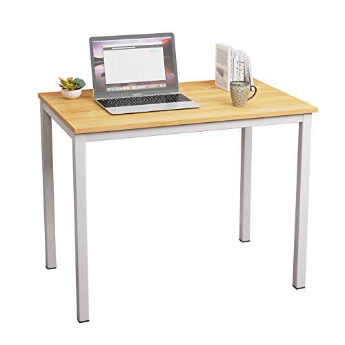 soges Schreibtisch Holzwerkstoffen aus P2,Erleichte Montage,PC Tisch Computertisch Esstisch für Studentenwohnheim,Seminar,Vorlesung,Zuhause,Büro usw.100 * 60CM