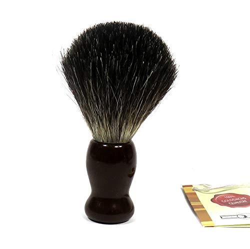Golddachs Blaireau de rasage 100% poils de blaireau Marron