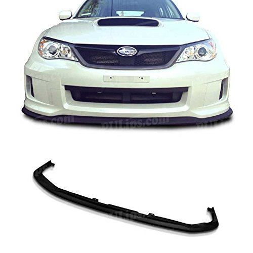 Poly Urethane 11-12 Subaru Impreza WRX STi CS Type Front Bumper PU lip Spoiler