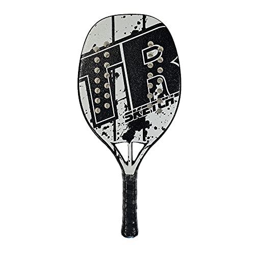 Top Ring Racchetta Beach Tennis Racket Sketch White 2021
