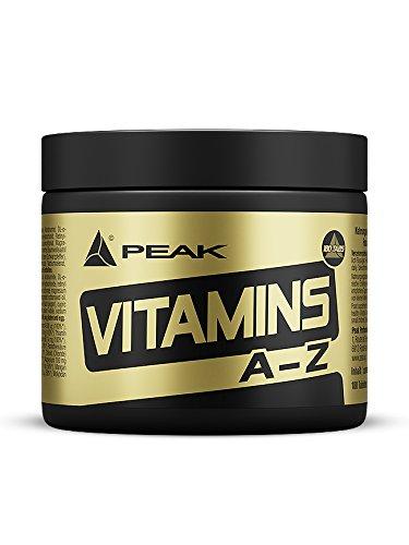 PEAK Vitamin A-Z - 180 Tabletten à 750mg